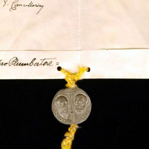 Papal Bull, Dated 1958