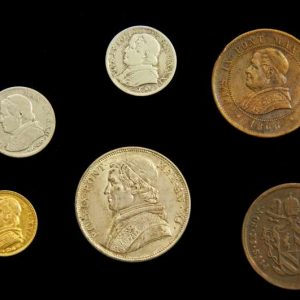 Coins From the Pontificate of Blessed Pius IX