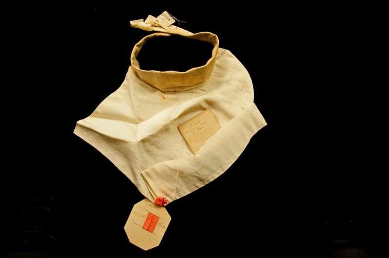 Roman Collar Worn by Blessed Pius IX