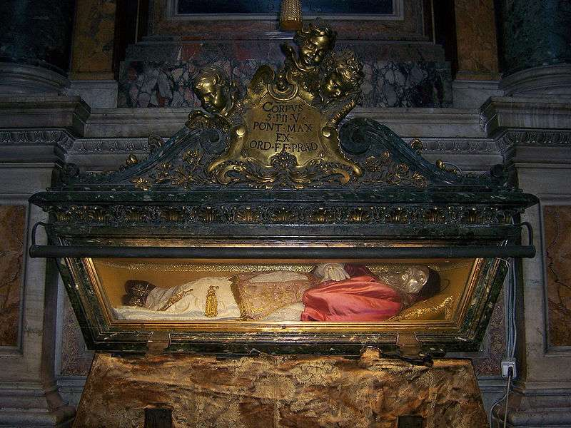 Tomb of St. Pius V