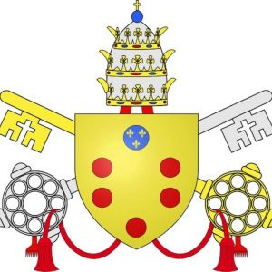 Coat of Arms of Pope Leo XI