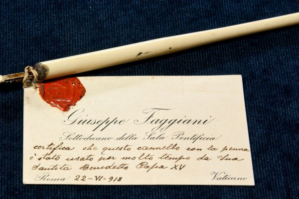 Pope Benedict XV: A Fountain Pen Used by the Pope