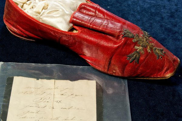 Blessed Pius IX: A Red Shoe