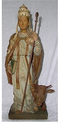 Pope St. Silvester I: A Statue