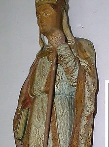Pope St. Sylvester I: Statue