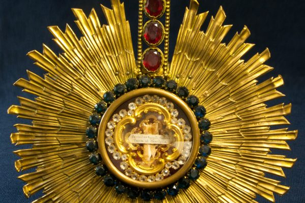Pope St. Victor I: A Bone Relic