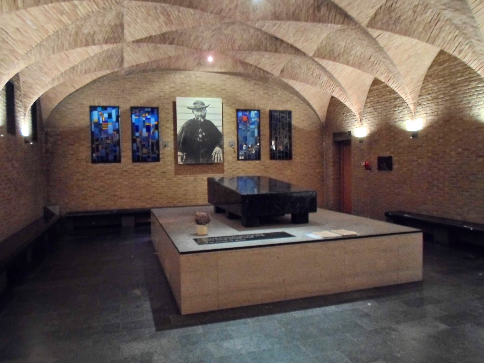 Shrine of St. Damien in the Cathedral of Honolulu, Hawaii