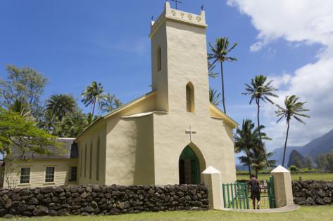 St. Philomena Church in Kalaupapa, Molokai