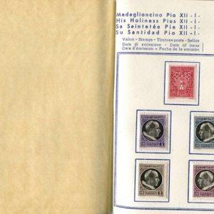 Stamp Album, Pius XII