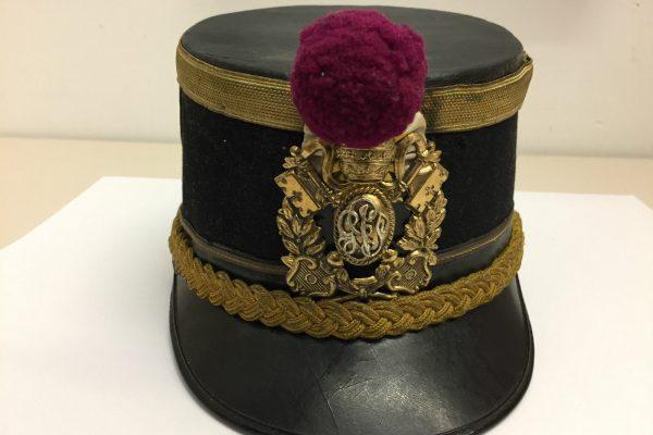 "A Rare Police ""Kepi""  with Papal Coat of Arms"
