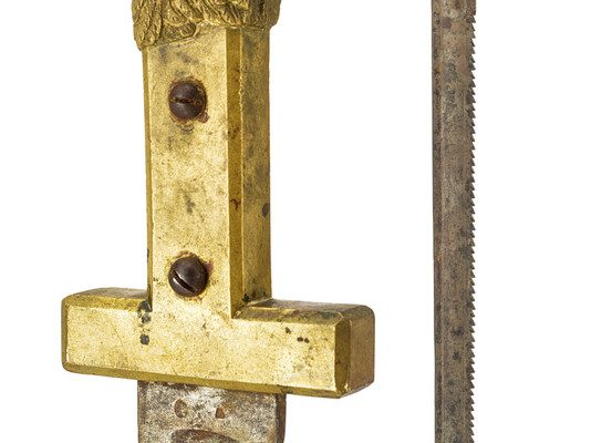 Papal Municipal Guard Pioneer's Sword Used from 1848-1870