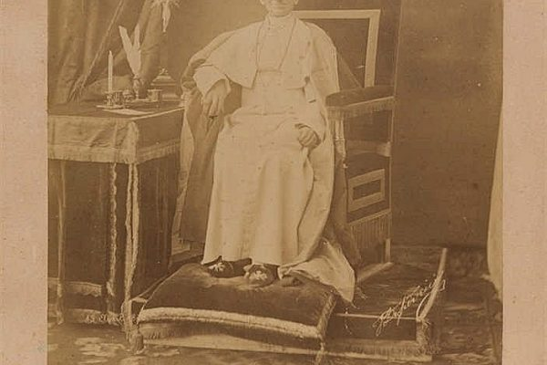 Pope Leo XIII: A Rare Signed Blessing with a Photograph