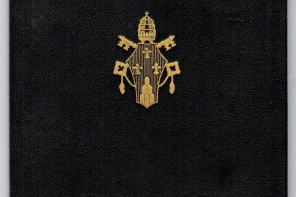 Passport Issued to Participating Bishops in Vatican II: Pope Paul VI