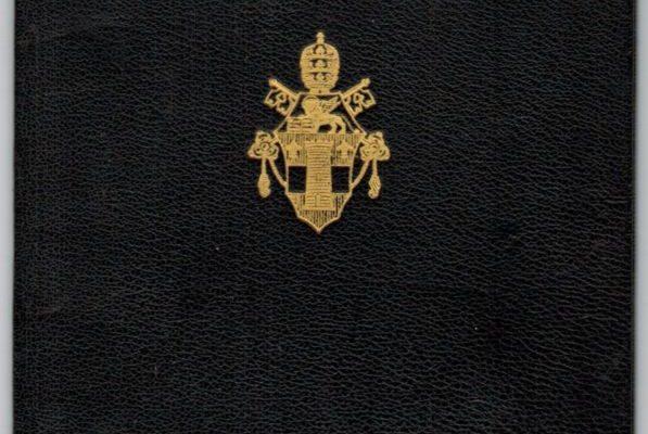 Passport Issued to Participating Bishops in Vatican II: Pope John XXIII