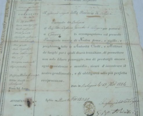 A Passport Issued in the Name of Pope Leo XII