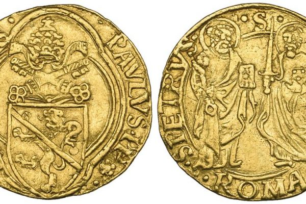 Pope Paul II: A Gold Ducat